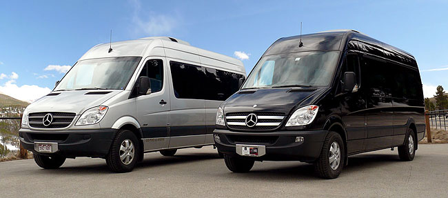 Plan B Colorado Mountain Transportation Luxury Sprinters