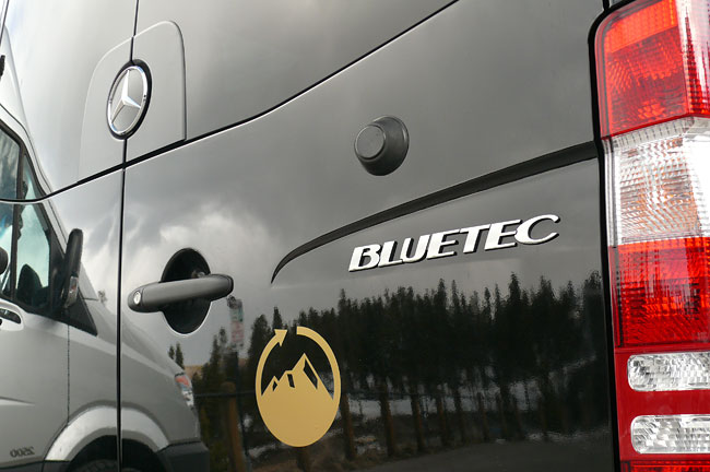 Plan B Transportation uses Mercedes-Benz Sprinters powered by BlueTEC.